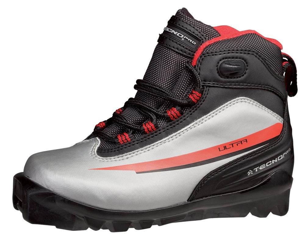 Türkendorf Angebote TecnoPro Herrenlanglaufschuh Ultra (Schuhgröße: 46.0 (UK=11.0), Farbe: 902 silber/schwarz/rot)