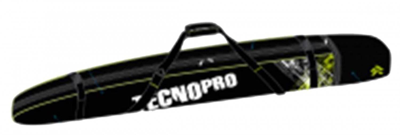 TecnoPro Skisack Equipment Line (Länge: 180 cm, 905 schwarz/grün/weiss)