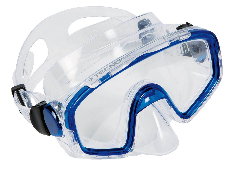 TecnoPro Tauchmaske Sundi (Farbe: 546 blau) Sale Angebote Haasow