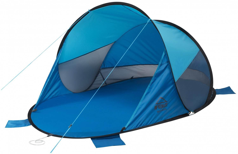 McKinley Bora Pop-Up Strandmuschel (Farbe: 903 türkis/blau)