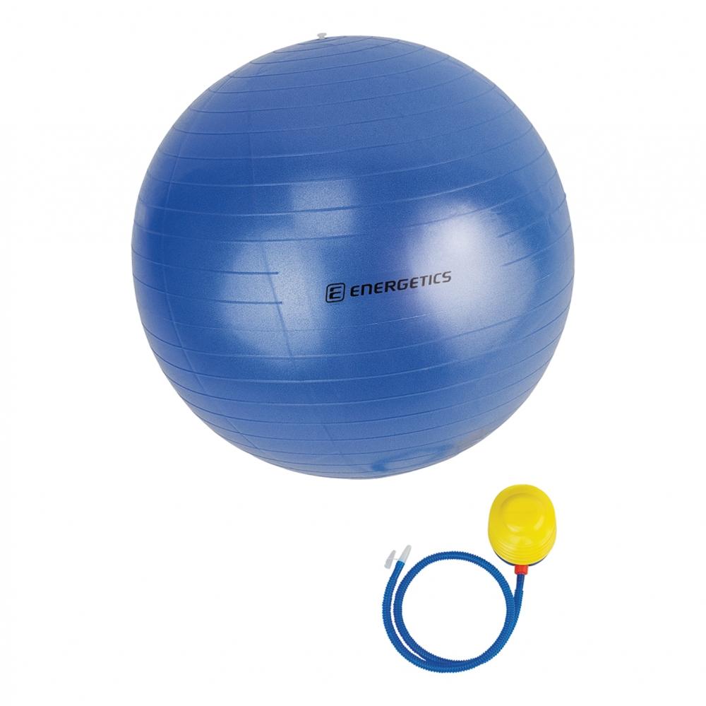 Energetics Physioball mit Pumpe (Größe: Ø 75 cm, 545 blau) Preisvergleich