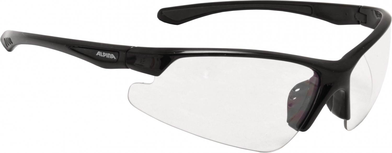 Alpina Levity Sportbrille (Rahmenfarbe: 431 black, Scheibe: clear)