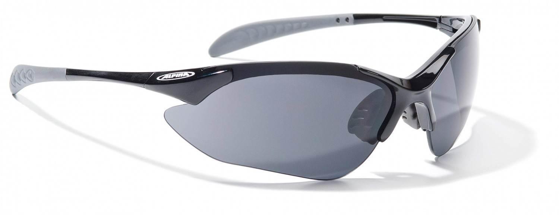 Alpina Tri Quatox Sportbrille (Rahmenfarbe: 431 black, Scheibe: black clear orange)