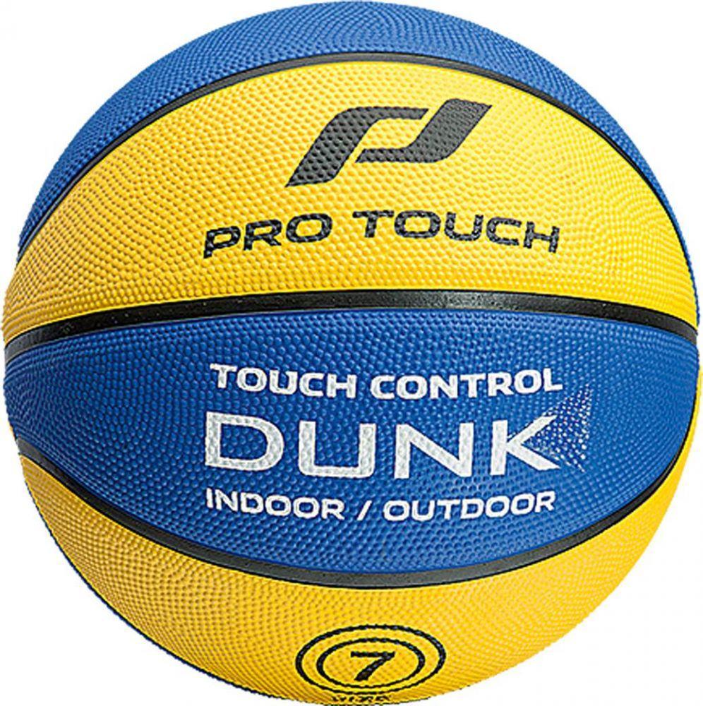 ProTouch Dunk Basketball (Größe: 5 = Jugend/Damen, Farbe: 181 yellow/blue)