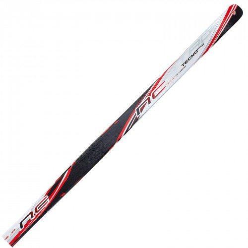 TecnoPro Kinder Langlaufski NC Junior (Skilänge 140 cm (ca. 30 bis 40 kg), 901 weiß schwarz rot)
