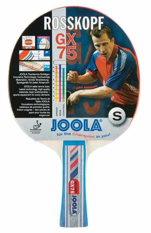 Joola Rosskopf GX 75 Tischtennisschläger (Farbe: neutral)
