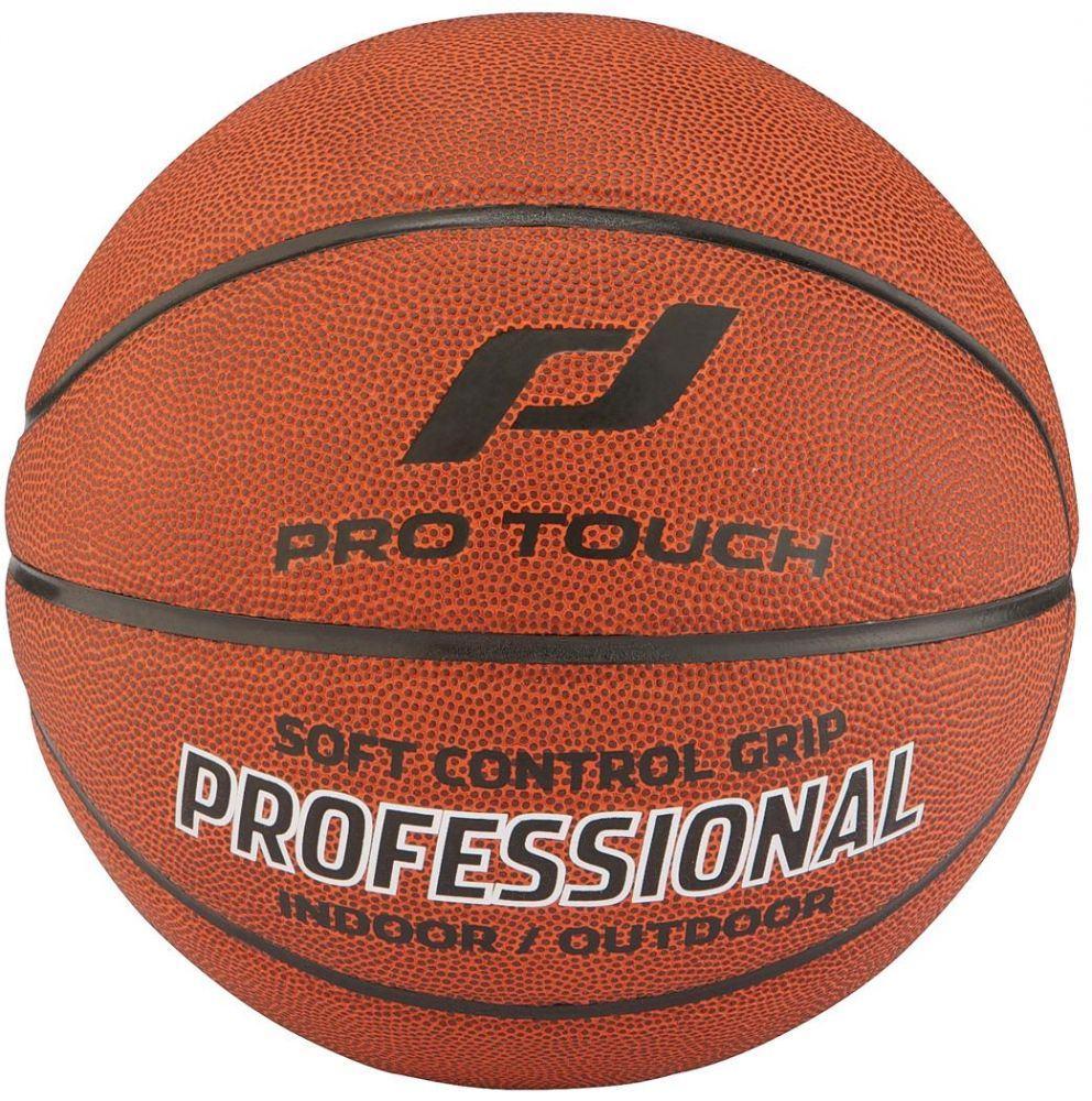 Pro Touch Professional Basketball (Größe: 6 = Damen, Farbe: 900 braun/schwarz/silber)