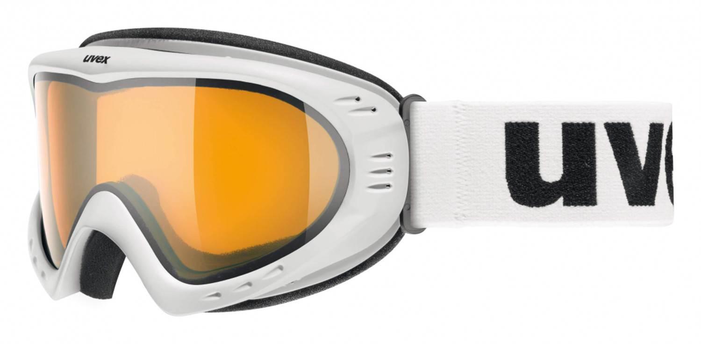 uvex Skibrille Cevron (Farbe: 0129 polarwhite, ...