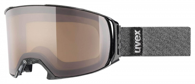 Schipkau Annahütte Angebote uvex Craxx Brillenträgerskibrille (Farbe: 2021 black met, polavision brown/clear)