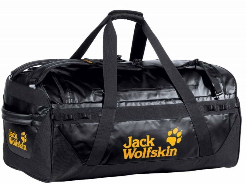 Tschernitz Angebote Jack Wolfskin Expedition Trunk 100 Reisetasche (Farbe: 6000 black)