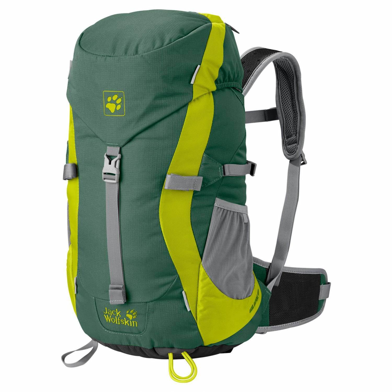 Kolkwitz Angebote Jack Wolfskin Kids Alpine Trail Rucksack (Farbe: 4353 palm green)