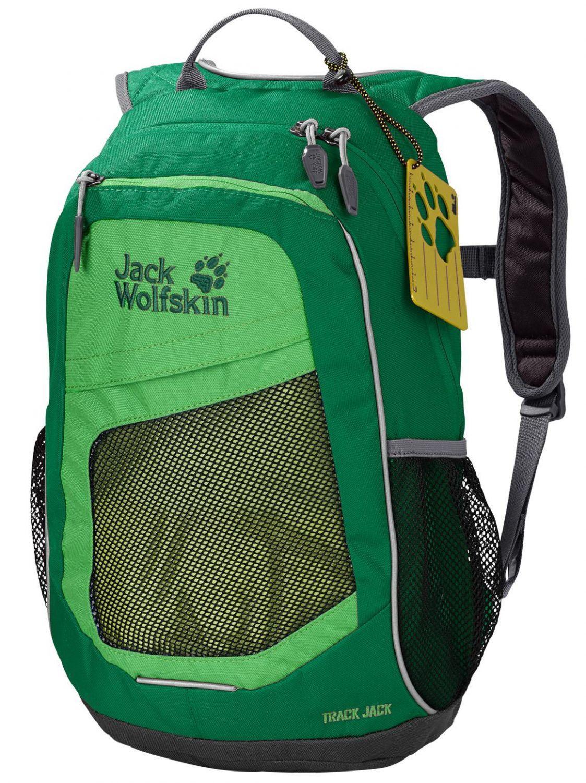 Gablenz Angebote Jack Wolfskin Track Kinderrucksack (Farbe: 4085 seagrass)