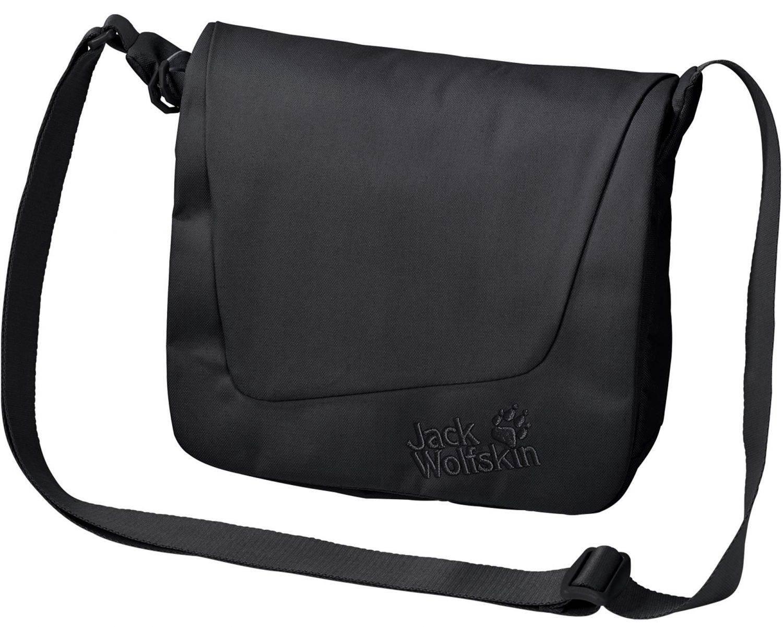 Jack Wolfskin Rosebery Schultertasche (Farbe: 6000 black) Sale Angebote Kathlow