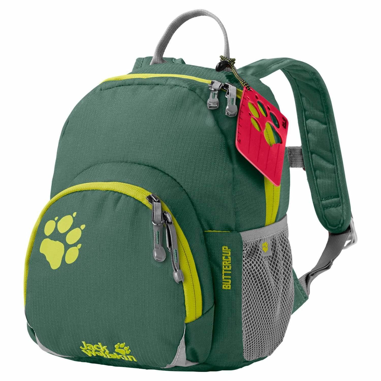 Jack Wolfskin Buttercup Kinderrucksack (Farbe: 4353 palm green)