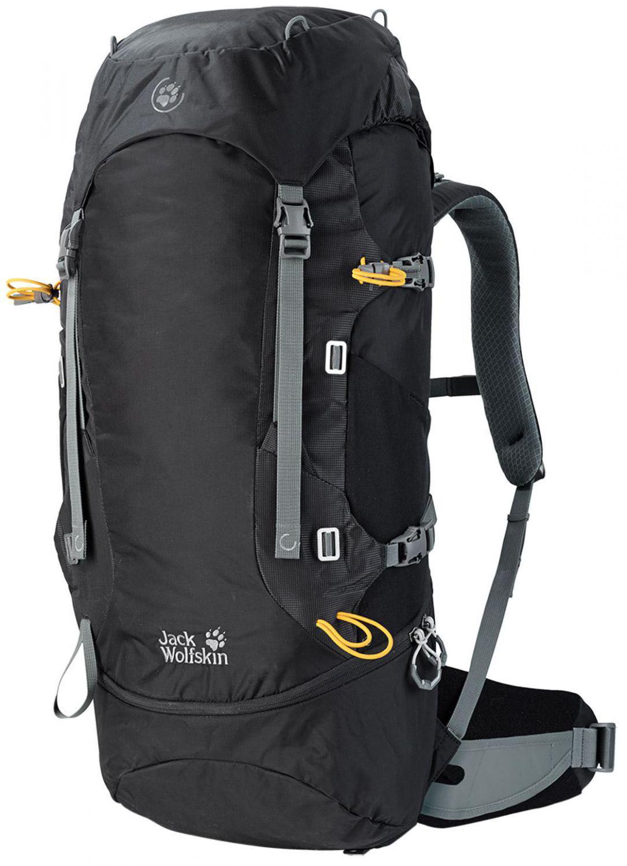 Griesen Angebote Jack Wolfskin EDS Dynamic 48 Pack Rucksack (Farbe: 6000 black)