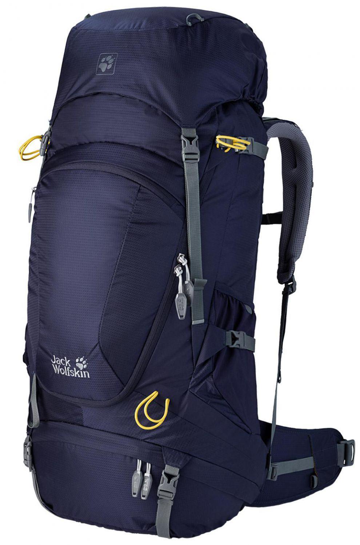 Jack Wolfskin Highland Trail XT 60 Wanderrucksack (Farbe: 1075 evening blue) Sale Angebote Haasow