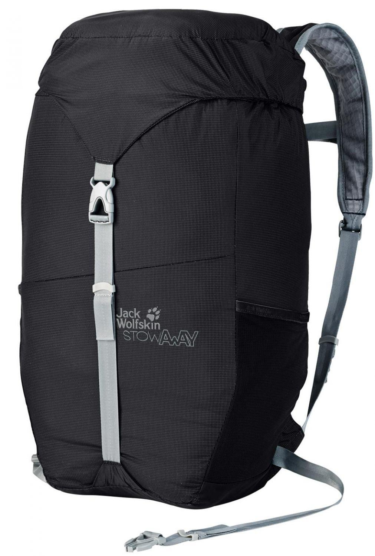 Jack Wolfskin Stowaway 24 Pack Tagesrucksack (Farbe: 6000 black)