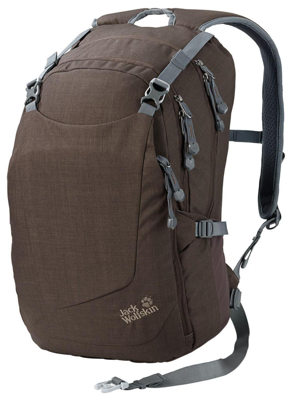 Jack Wolfskin Rushcutter Pack Tagesrucksack (Farbe: 5200 mocca) Preisvergleich