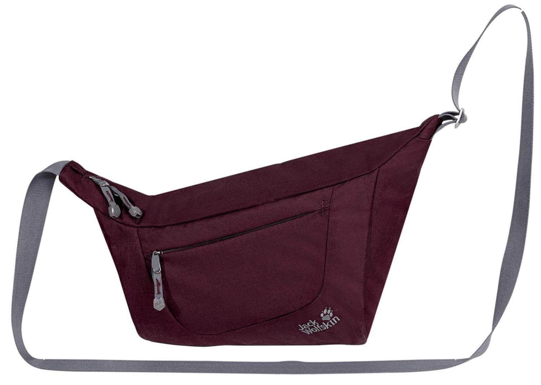 Jack Wolfskin Belmore 12 Umhängetasche (Farbe: 2009 dark berry) Sale Angebote