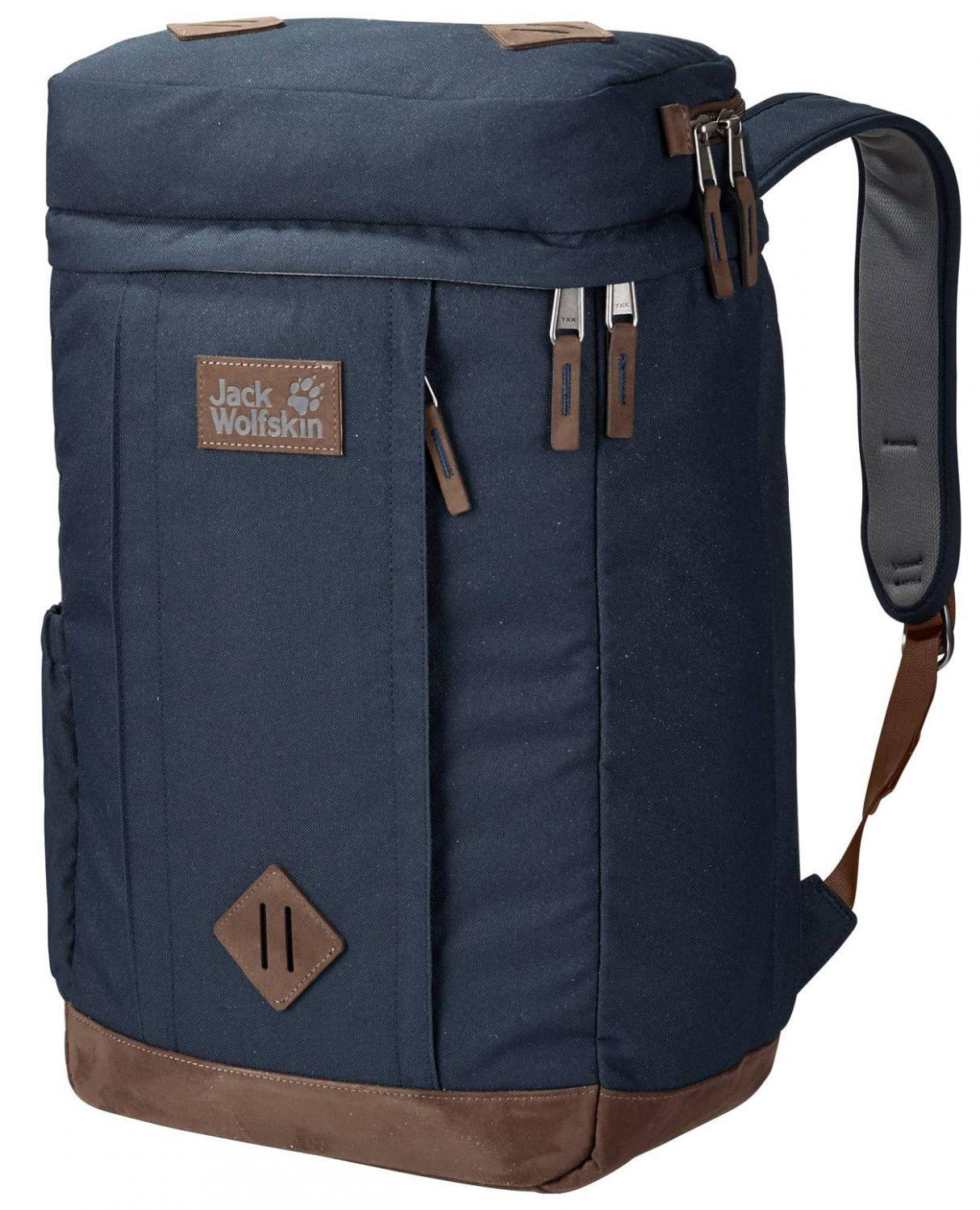 Jack Wolfskin Leicester Square Laptop Rucksack (Farbe: 1010 night blue) Sale Angebote