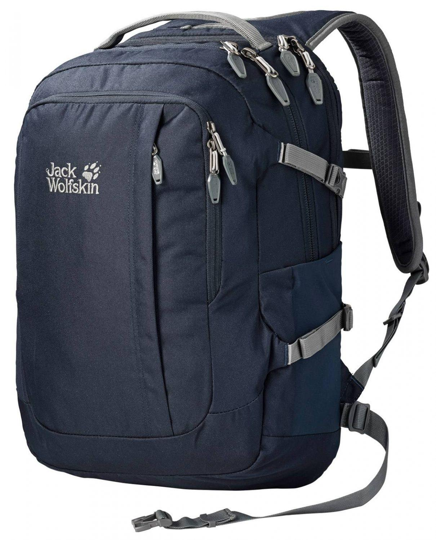 Jack Wolfskin Jack.Pot de Luxe Laptoprucksack (Farbe: 1010 night blue) Sale Angebote