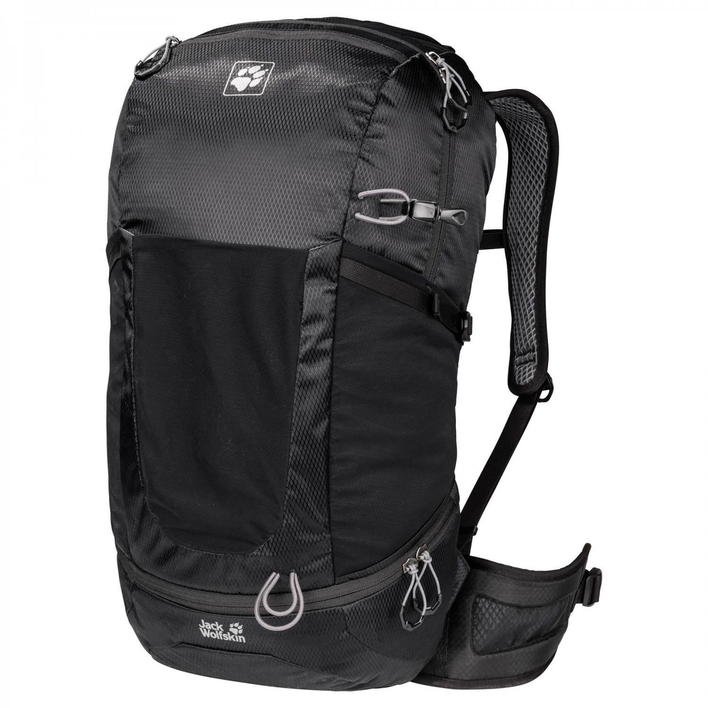 Jack Wolfskin Kingston 30 Pack Tagesrucksack (Farbe: 6000 black) Preisvergleich