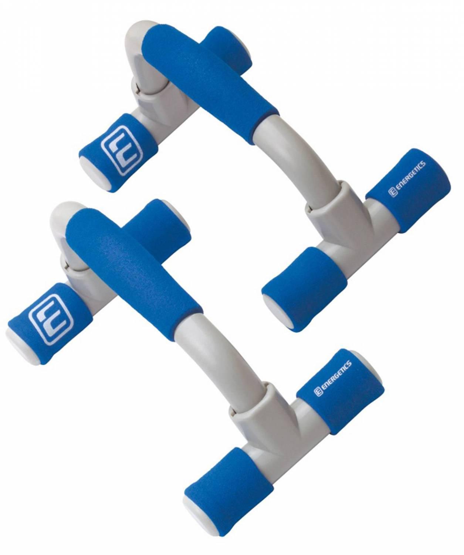 Energetics Push up Stand Liegestütz Griffe (Farbe: 901 blau/grau)