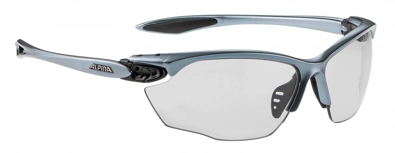 Alpina Twist Four Varioflex+ Sportbrille (Rahmenfarbe: 125 tin/black, Scheibe: Varioflex black)