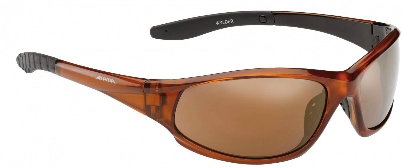 Alpina Wylder Sportbrille (Rahmenfarbe: 335 black matt, Scheibe: platinum mirror)
