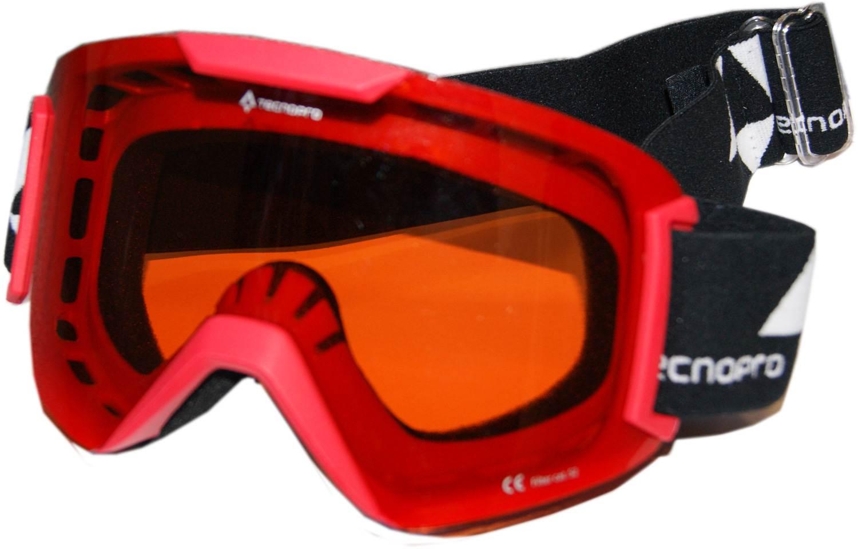 TecnoPro Base 2.0 Skibrille (Farbe: 251 rot)