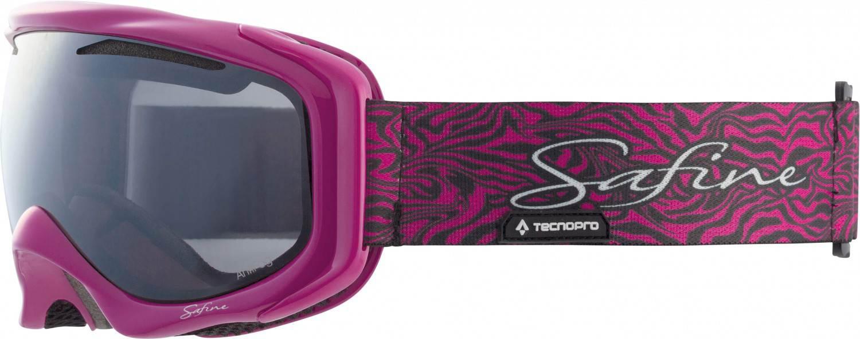 TecnoPro Safine Prestige Skibrille (Farbe: 901 pink/schwarz)