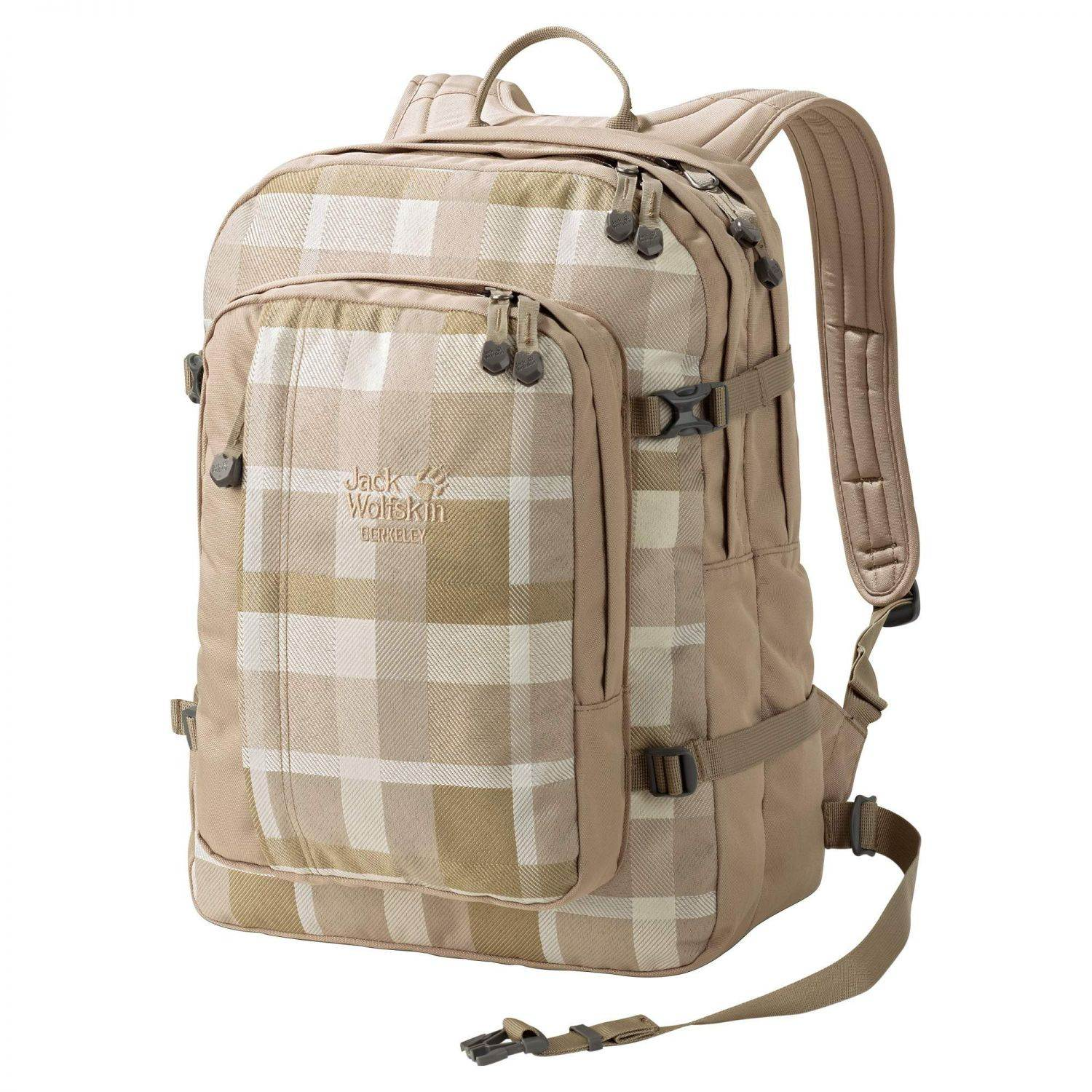 Jack Wolfskin Berkeley Daypack (Farbe: 7951 sand woven check)