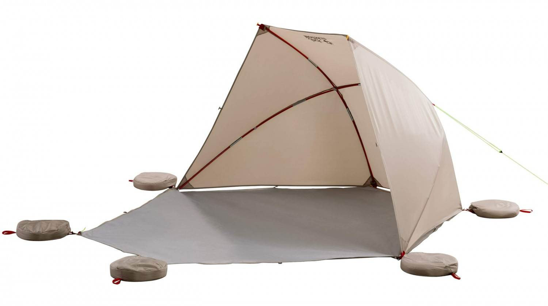 Jack Wolfskin Vario Beach Shelter Strandmuschel (Farbe: 5122 sahara)