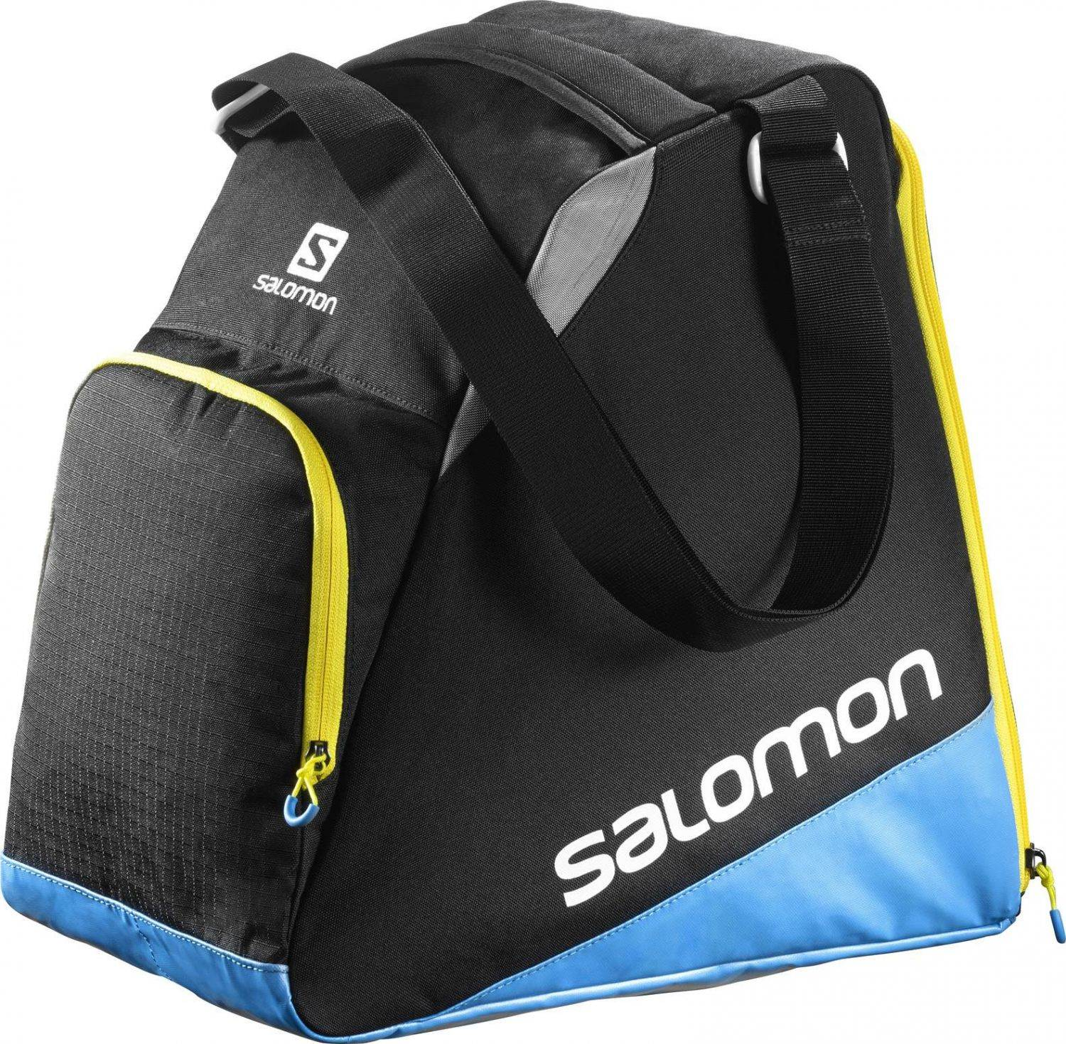 Salomon Extend Gearbag Skischuhtasche (Farbe: black/process blue/corona yellow)