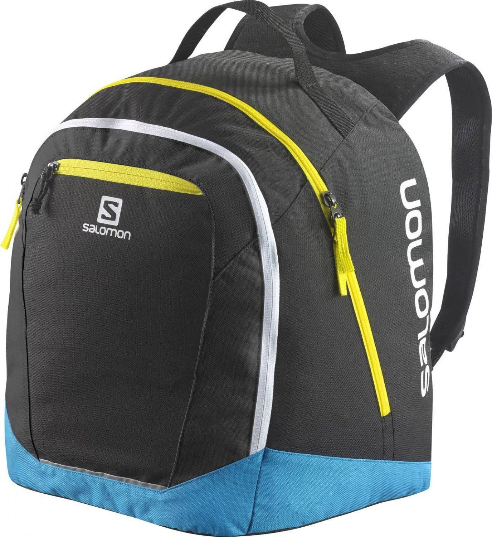 Salomon Original Gearbag Rucksack (Farbe: black/cyan hexachrome/corona yellow) Preisvergleich