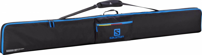Forst (Lausitz) Angebote Salomon Nordic 3 Paar 215 Pro Sleeve Skitasche (Farbe: black/process blue/corona yellow)