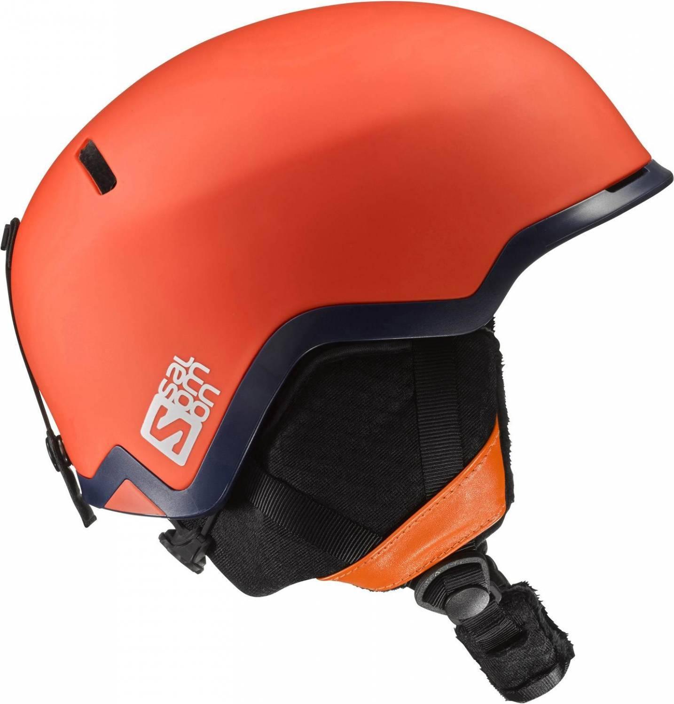 Schipkau Angebote Salomon Hacker Freeride Skihelm (Größe: 53-56 cm, orange)