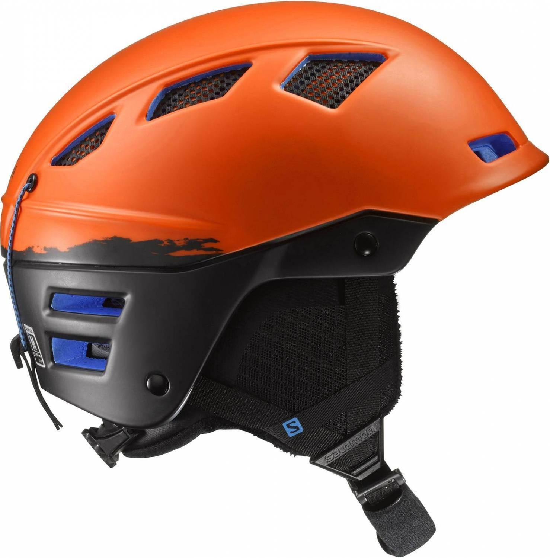 Salomon Mountain Charge Skihelm (Größe: 56-59 cm, orange/black)