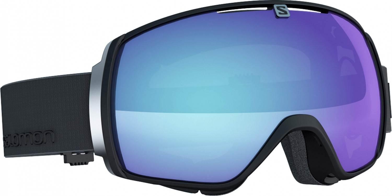 Salomon XT One Photo Skibrille Brillenträger (Farbe: black, Scheibe: blue/photochromic)