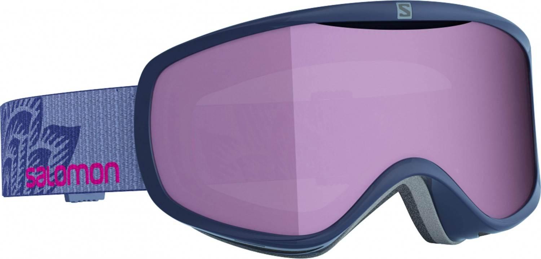 Salomon Sense Damen Skibrille (Farbe: navy, Scheibe: multilayer ruby)