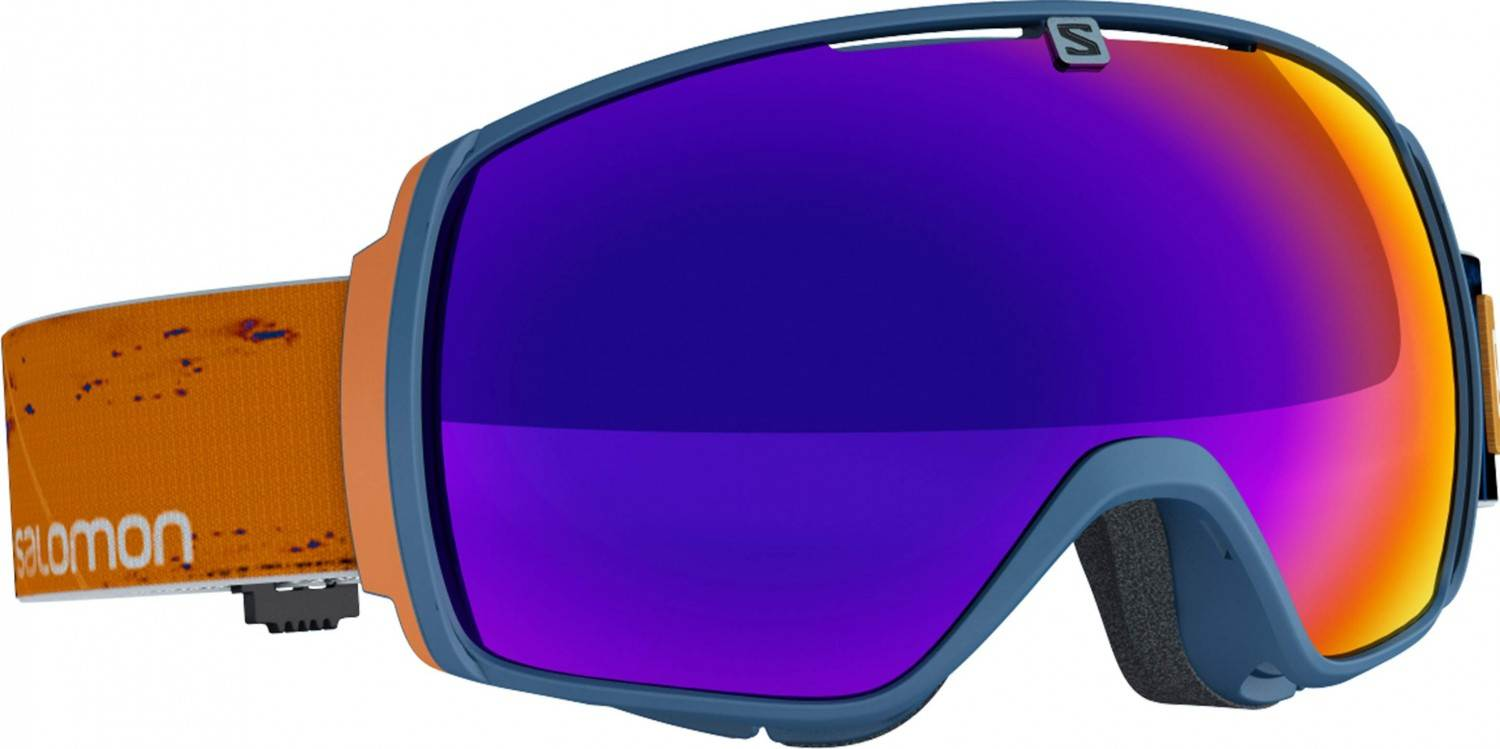 Salomon XT One Skibrille Brillen Träger (Farbe: navyblue, Scheibe: multilayer solar infrared)