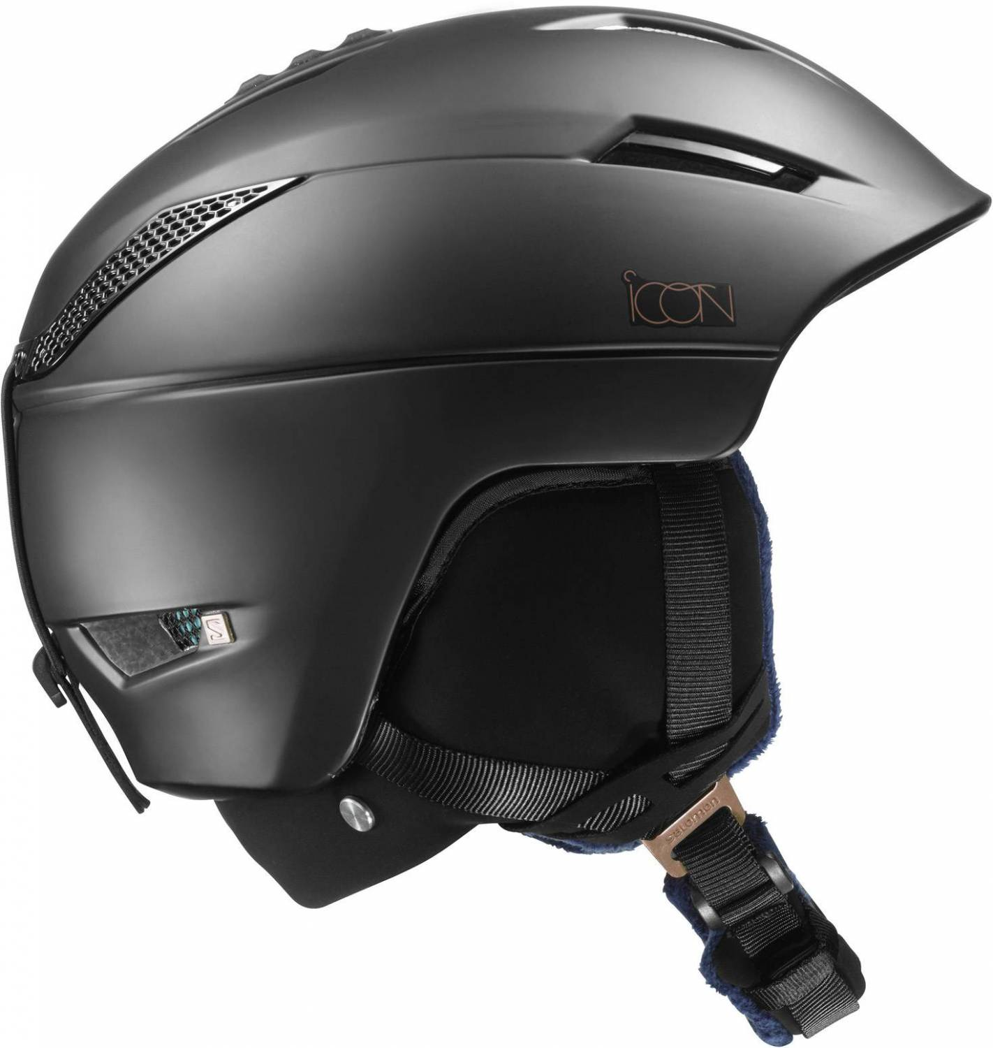 Salomon Icon Custom Air Skihelm (Größe: 53-56 cm, black) Sale Angebote Welzow