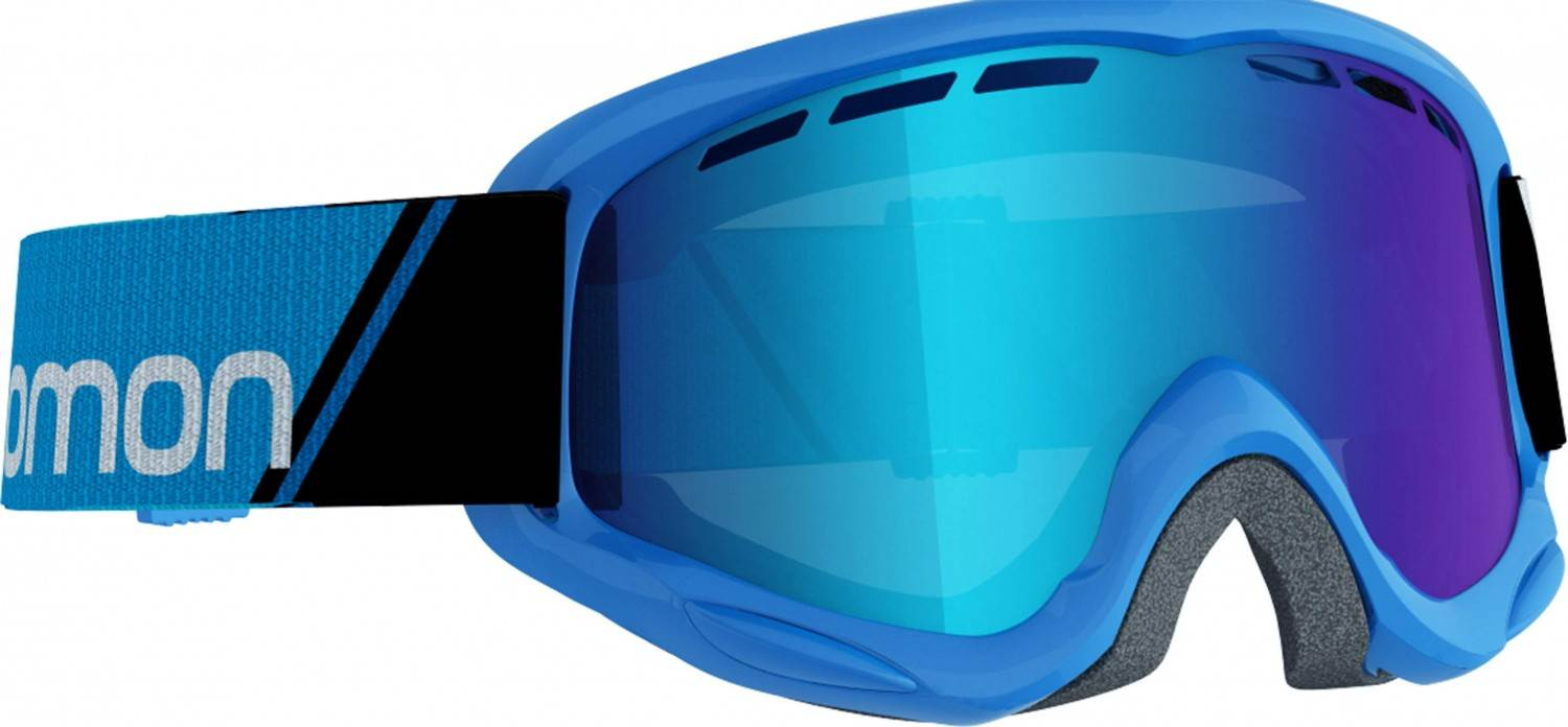 Salomon Juke Kinderskibrille (Farbe blue, Scheibe multilayer mid blue)