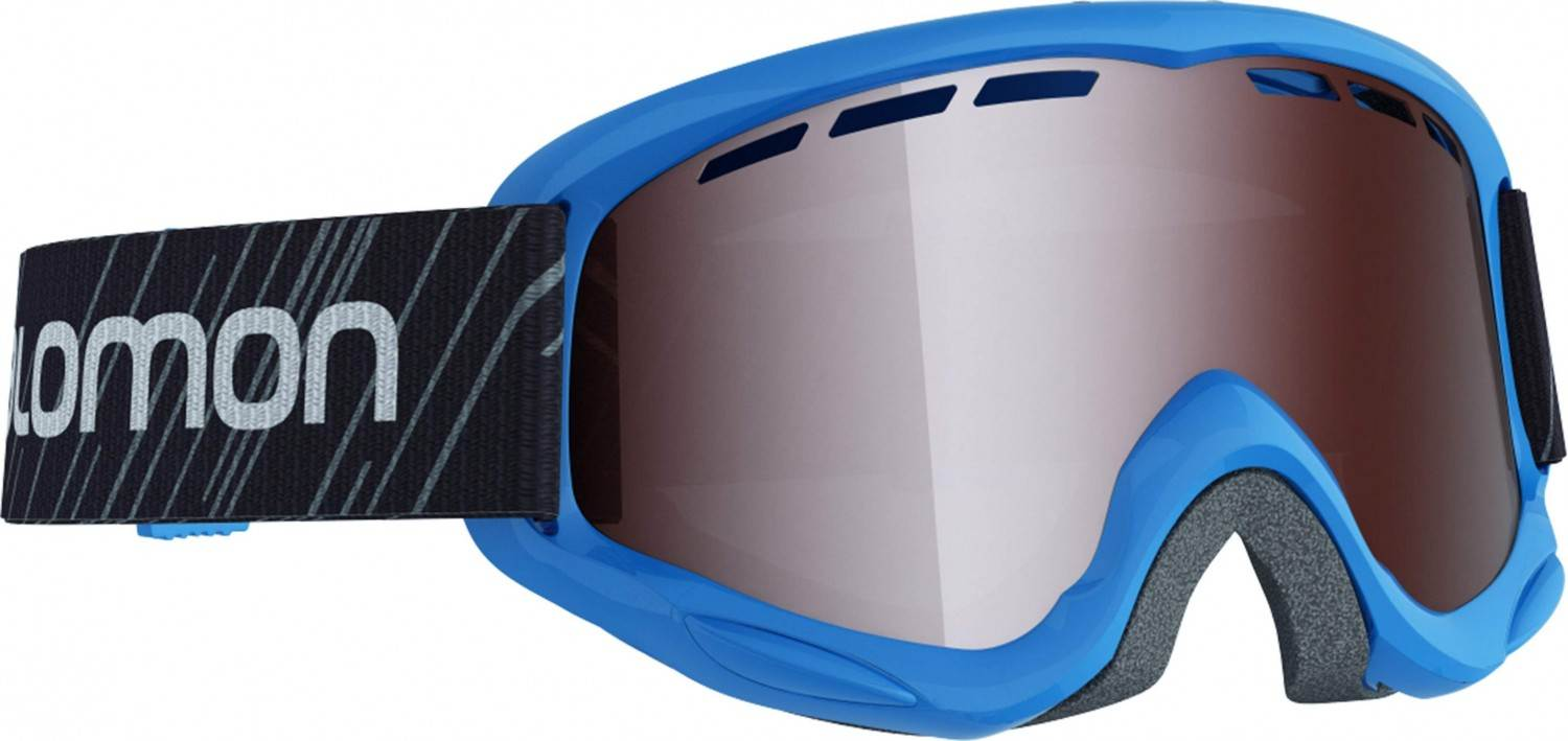 Salomon Access Juke Kinderskibrille (Farbe blue, Scheibe tonic orange standard)