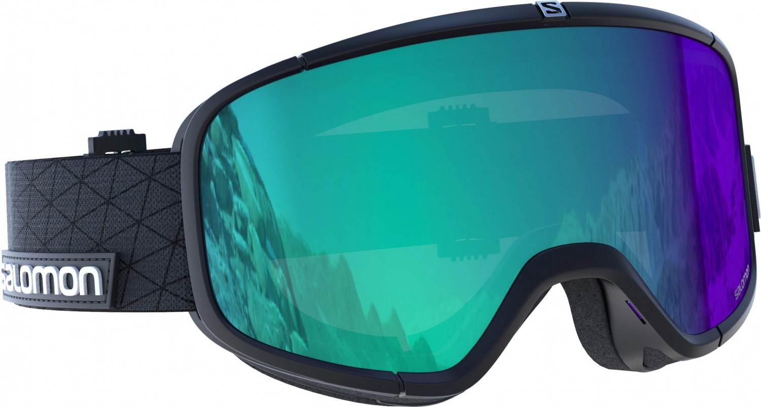 Salomon Four Seven Photo Skibrille (Farbe: black, Scheibe: photochromic blue)