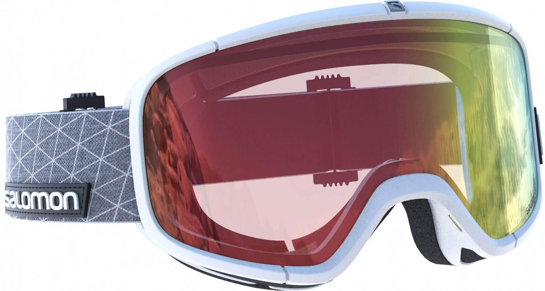 Groß Schacksdorf-Simmersdorf Angebote Salomon Four Seven Photo Skibrille (Farbe: white, Scheibe: photochromic red)