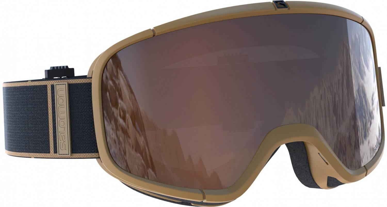 Salomon Four Seven Skibrille (Farbe: camel, Scheibe: solar silver)