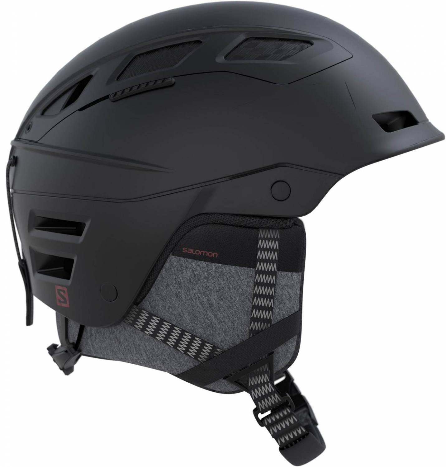 Salomon QST Charge Skihelm (Größe: 56-59 cm, black)