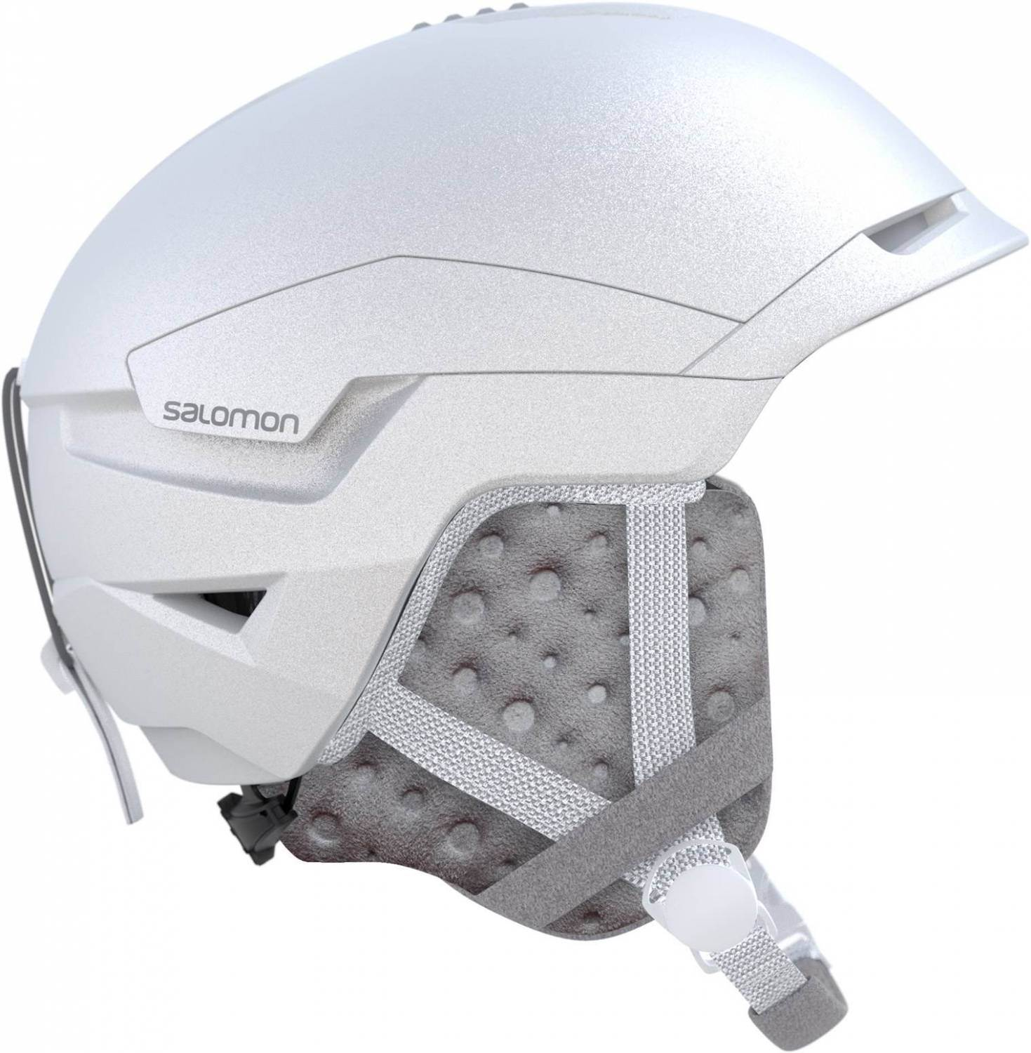 Salomon Quest Access Skihelm Damen (Größe: 53-56 cm, white)