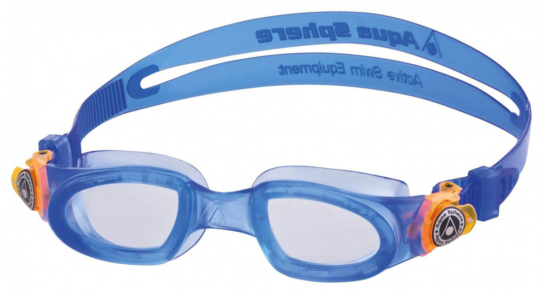 Haasow Angebote Aqua Spehre Schwimmbrille Moby Kid (Größe: uni, 002 blau)